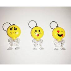 Işıklı Emoji Anahtarlık