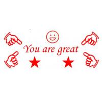 Öğretmen Kaşe Model 3: You are great