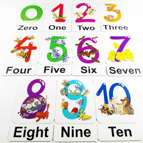 Numbers Sayilar Manyetik Ingilizce Kelime Kartlari